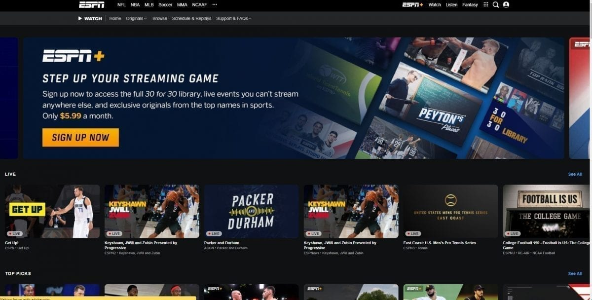 20 Best Free Sports Streaming Sites To Watch Sports 2020